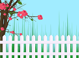 vrtna ograja